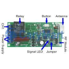 1ch ac110v 220v rf momentary remote control switch 315mhz 433mhz manual