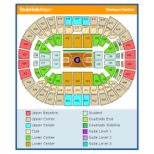 Verizon Seating Chart With Rows Symbolic Wizards Seating