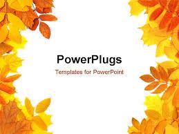 Fall Leaf Powerpoint Template Dcpedestrian Com