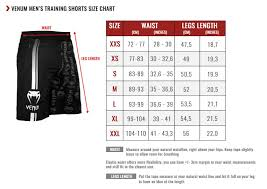 Venum Elite Gi Size Chart Venum Technical 2 0 Training Shorts Black Black