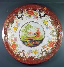 Daher Decorated Ware Tray Made In England Inspiration VINTAGE DAHER DECORATED Ware Metal Tin Tray Long Island NY 32