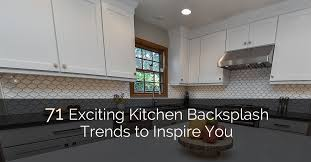 Kitchen Backsplash With Granite Countertops Mesmerizing 48 Exciting Kitchen Backsplash Trends To Inspire You Home