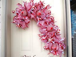 Candy Cane Wreath Christmas Craft