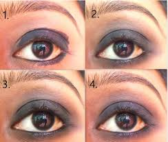 when you soften the edges smudge the kohl in v shape in outer half of the lid it gives a dramatic look and natural shape for the smokey eye