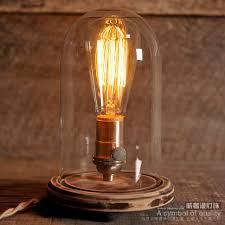 edison table lamp vintage home lighting. Edison Bulb Edison Table Lamp Vintage Home Lighting