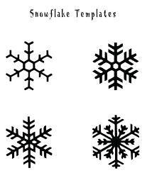 Snowflakes Templates Printables Orderai Info