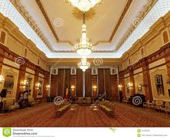 Inside Of Parliament House In Bucharest Romania Stock Photo - Houses of parliament interior