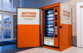 First Vending Machine Dispensed Magnificent British Charity Unveils Free Vending Machine For Homeless