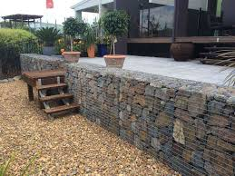 awesome gabion wall design retaining how to build cage basket rock letterbox calculation spreadsheet idea manual uk eurocode nz detail