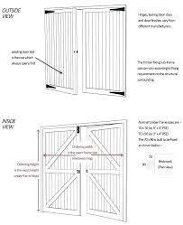 size of garage door double garage door dimensions double garage door size garage door width com