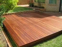 N Wooden Platform Deck Plans Decks Ideas