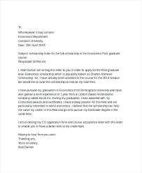 Scholarship Cover Letter Scholarship Cover Letter Sample Resume And