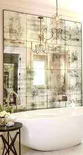 aged mirror tiles distressed best ideas on antiqued for the most incredible bathroom antique glass mirrored glass tiles antique
