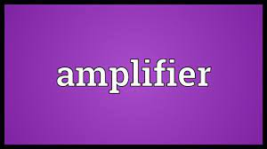 Amplifier Meaning - YouTube