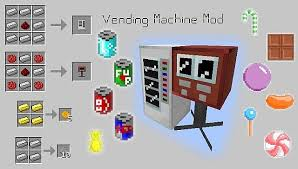 Minecraft How To Make A Vending Machine Awesome Add Vending Machines With This Mod 48848848 Mods For Minecraft