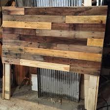 Pallet Wood Headboard DIY