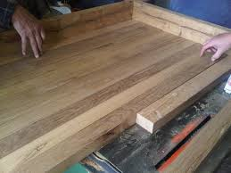 Diy Kitchen Countertop 17 Best Ideas About Reclaimed Wood Countertop On Pinterest Wood