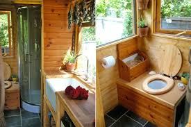 off grid portable wagon tiny house swoon shower 2 drain stall