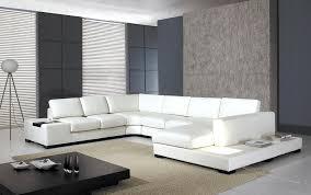 modern white sectional. White Sectional Arabella Modern