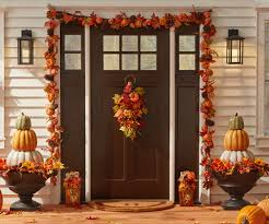 Incredible winter living room design ideas for holiday spirit Decoratrend Decorated Front Porch With Pumpkins And Fall Wreathes The Home Depot Holiday Decorations The Home Depot