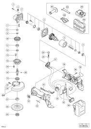 hitachi grinder parts. hitachi cordless disc grinder g18dsl diagram 0 (download ) grinder parts l