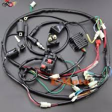 full electrics wiring harness 150c gy6 atv quad bike buggy go kart image is loading full electrics wiring harness 150c gy6 atv quad