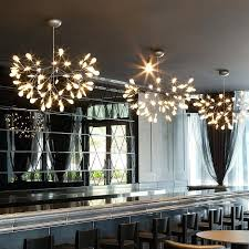 tree branch chandelier contemporary creative art designer firefly chandelier modern tree leaf led lamps fixtures