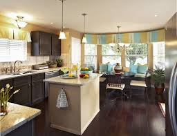 Small Kitchen Color Kitchen Color Ideas For Small Kitchens Cone Black Hanging Lamp