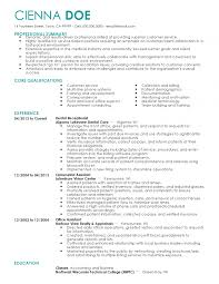 Template Receptionist Resume Sample Monster Com Templates For Resume