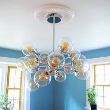 bathroom licious how install chandelier over ceiling fan site