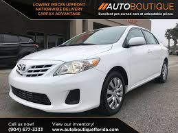 50 Best Jacksonville Used Toyota Corolla for Sale, Savings from $2,369