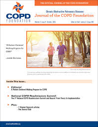 walking journal a patient centered walking program for copd journal of the copd
