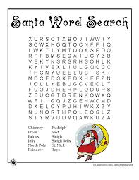 Printable Christmas Word Puzzles - Woo! Jr. Kids Activities
