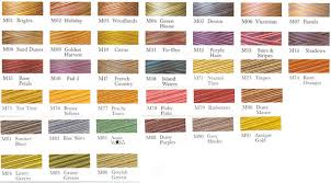 Threads & To view the Signature Variegated Color Chart Click Here Adamdwight.com