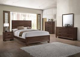 Coaster Brandon Bedroom Collection   Medium Warm Brown