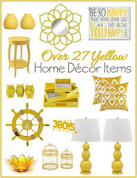 Yellow Home Decor Accents Yellow Home Decor Accents Lamps Pillows Mirrors and More 100 2