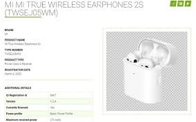 <b>New</b> TWS earbuds from <b>Xiaomi</b> may be on the way ...