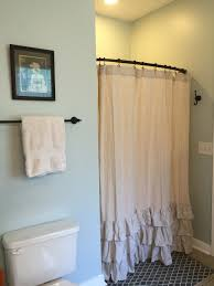 Bathroom View Cute Pottery Barn Shower Curtains As Your Elegant