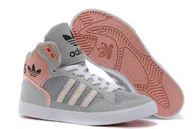 adidas shoes high tops red. 2015 adidas high-top shoes for women gray white pink high tops red i