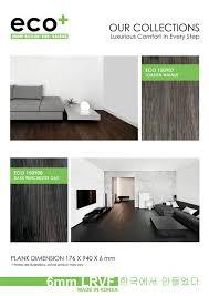 Ecopluz Luxury Resilient Vinyl Flooring