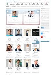 Socialengine Resume Cv Plugin
