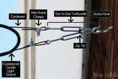 How To Hang Outdoor String Lights On Patio