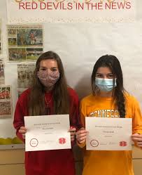 """Halls High Athletics on Twitter: """"Congratulations to soccer players Cierra  Huff and Ava Garrett for earning this week's female student athlete of the  week! Cierra scored 4 goals and had 3 assists"""