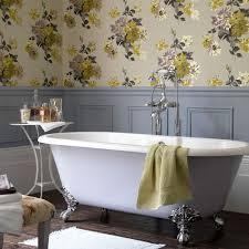 Image Removable Wallpaper Bathroomwallpaperideaspanelling Ideal Home Bathroom Wallpaper Ideas Waterproof Bathroom Walllpaper Ideas