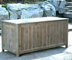C Large Deck Box Extra Gallon Bench Outdoor Storage Cabinet  Plans