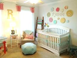 wall decor baby girl nursery room paint ideas wonderful with white and decorative lighting