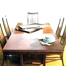 Custom Dining Room Table Pads Awesome Inspiration Ideas
