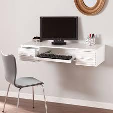 white wood office desk. Charming Wall Mount Office Desk For Your Design: Modern White Wood S