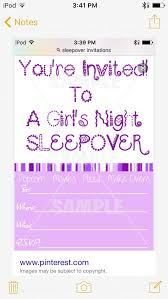 How To Make A Sleepover Invitation How To Make Invitations For A Sleepover With Pictures Wikihow