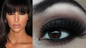 fashion dark green smokey eyes amazing kim kardashian inspired clic black smokey eye makeup tutorial collection dark green smokey eyes